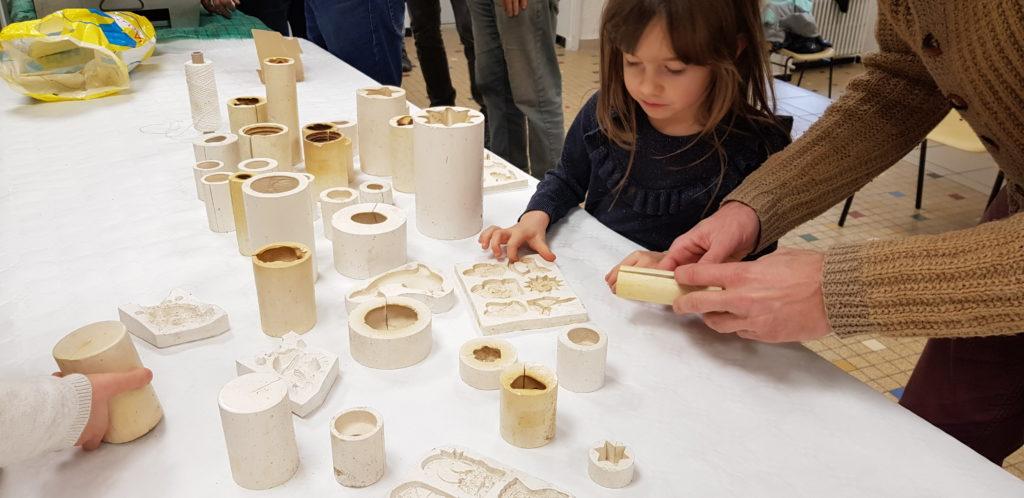 fabrication de bougies